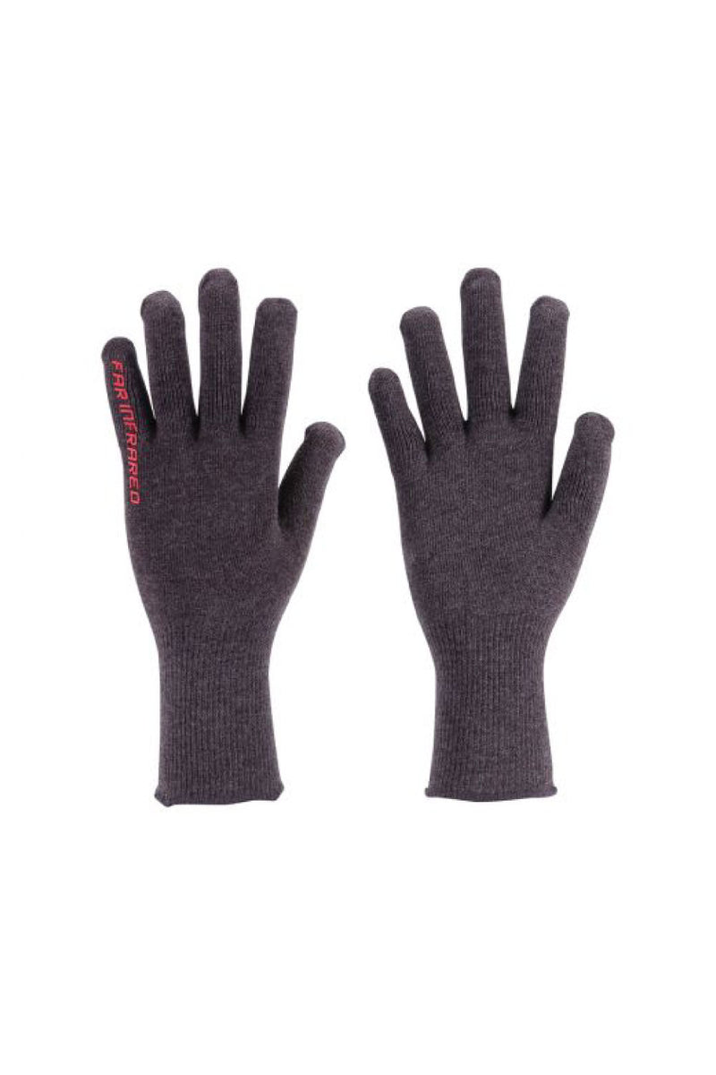BBB InnerShield Full Finger Bike Gloves Grey Unisize/Unisex
