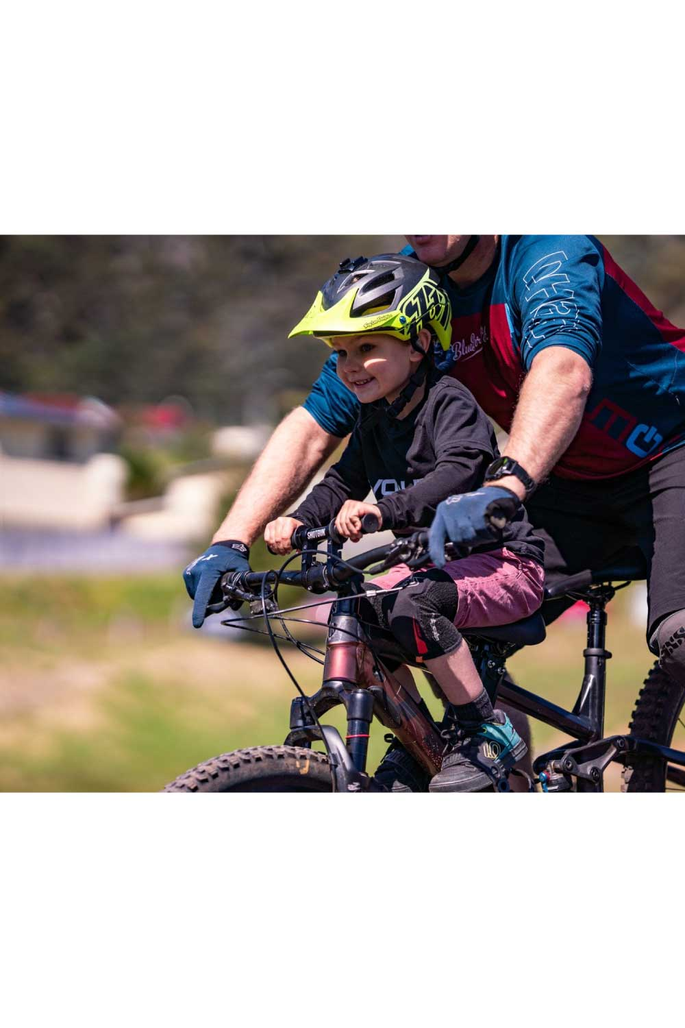 Kids Ride Shotgun Kids Mountain Bike Handlebars