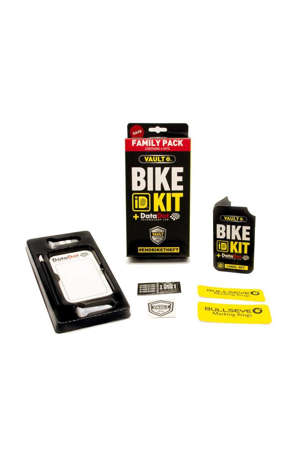 Vault Combination Cable Lock with Bike ID Kit