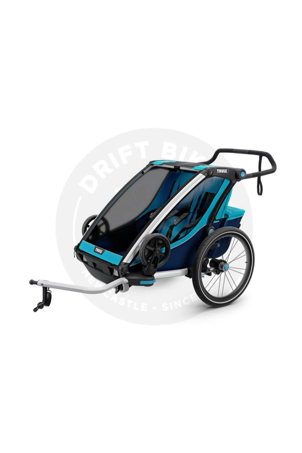 THULE CHARIOT CROSS 2 CHILD BLUE