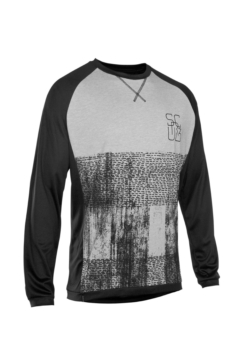 ION Mens Scrub AMP Long Sleeve MTB Jersey