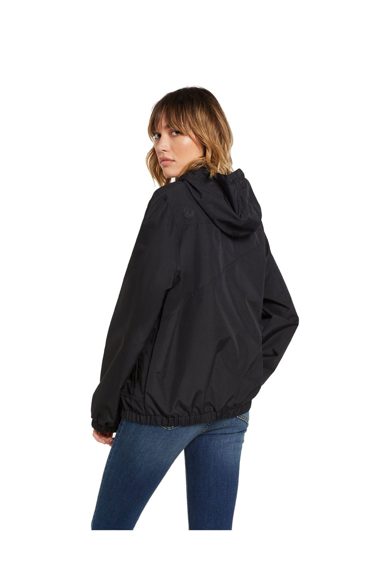 VOLCOM Women's Enemy Stone Jacket Black