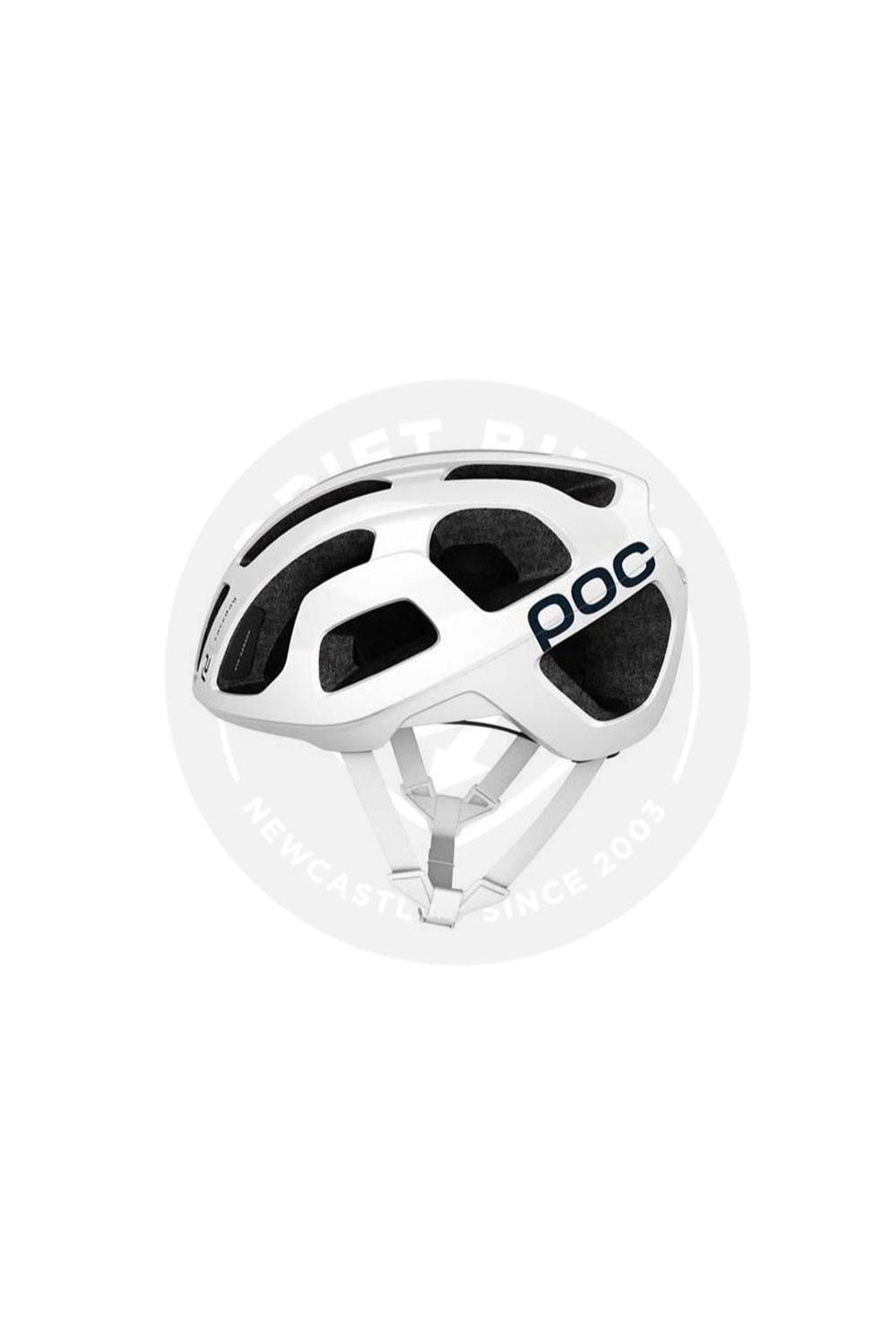 POC Octal Raceday Adult Road Bike Helmet Navy White