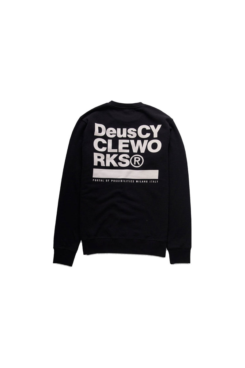 DEUS Men's Work Crew Jumper