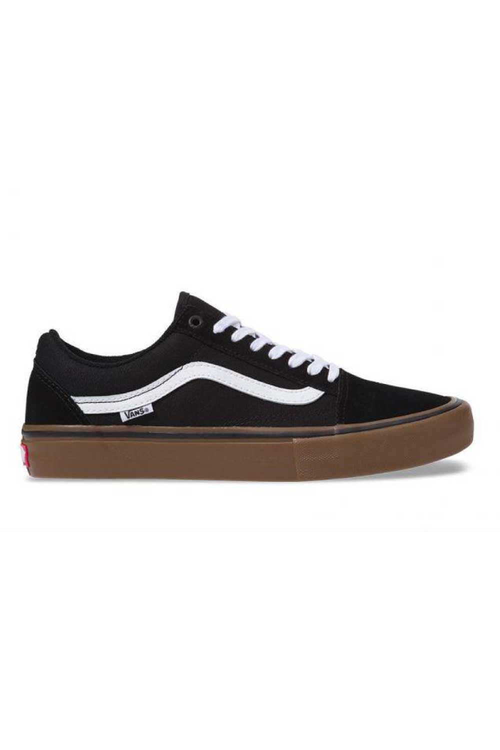 Vans Old Skool Pro Shoe Black/White/Gum
