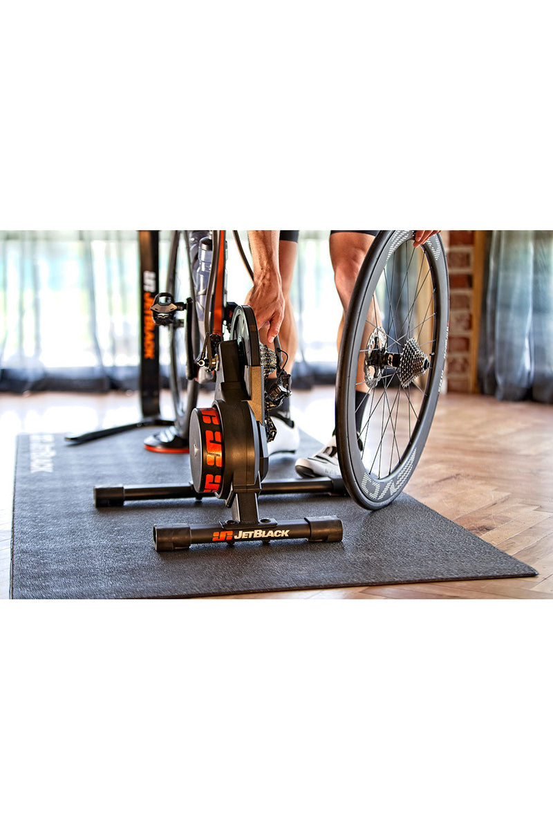 Jet Black Volt EMS Smart Indoor Bike Trainer