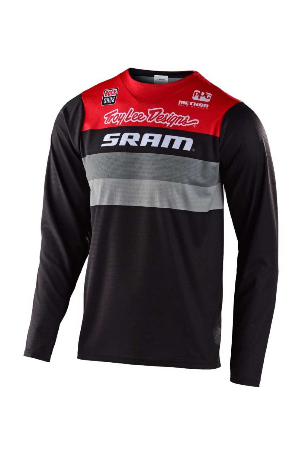 CONTINENTAL SRAM BLACK / RED