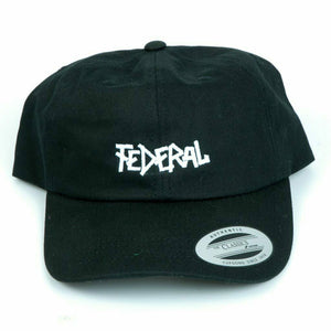 Federal Dad Cap / Black