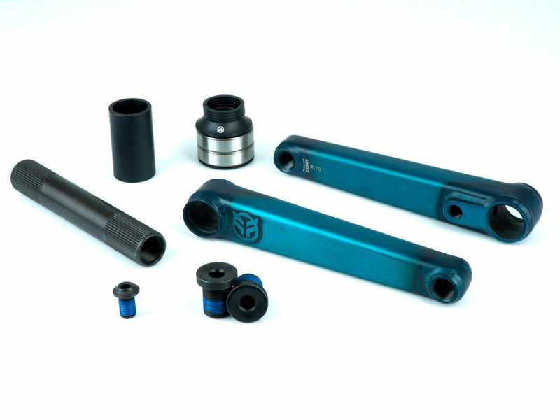 Federal Vice 2 Cranks / 24mm / Matte Clear Teal / 175mm