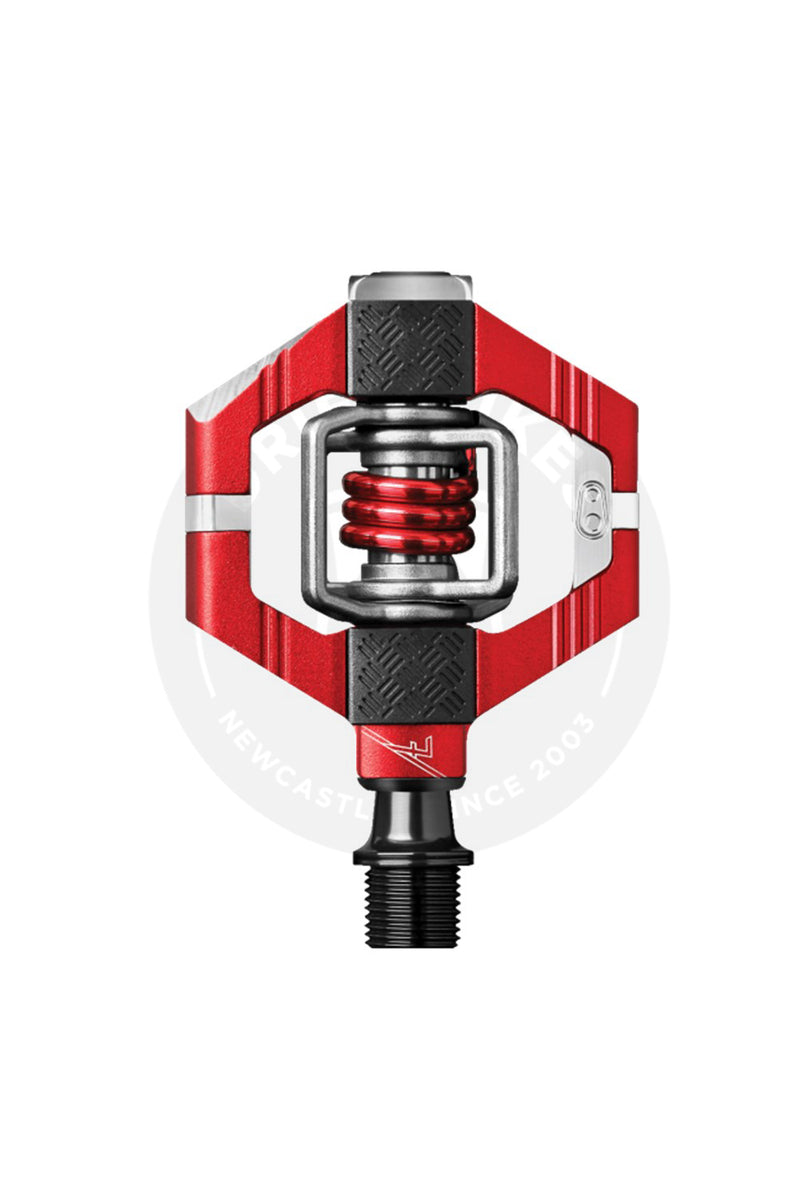CrankBrothers Pedal Candy 7 Red Spring