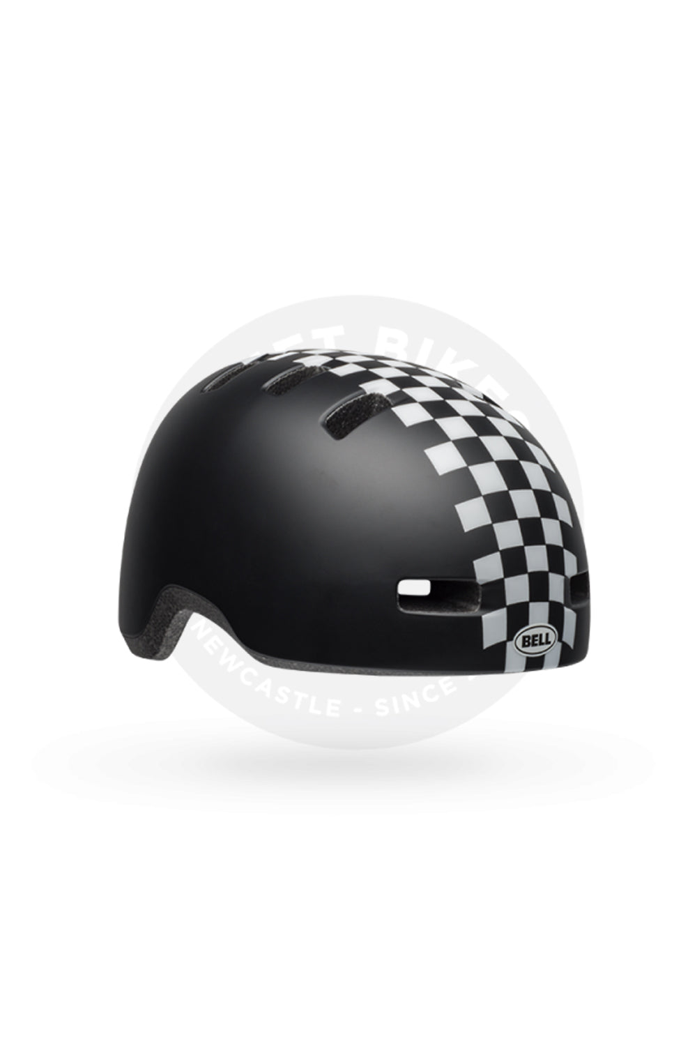 CHECKERS MATTE BLK/ WHITE