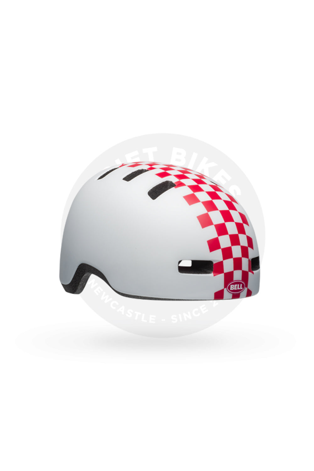 CHECKERS MATTE WHITE/ PINK
