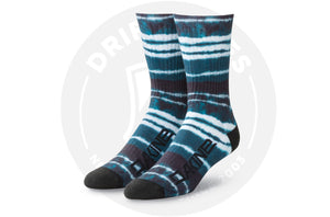 Dakine Booker Socks One Size Resin Stripe