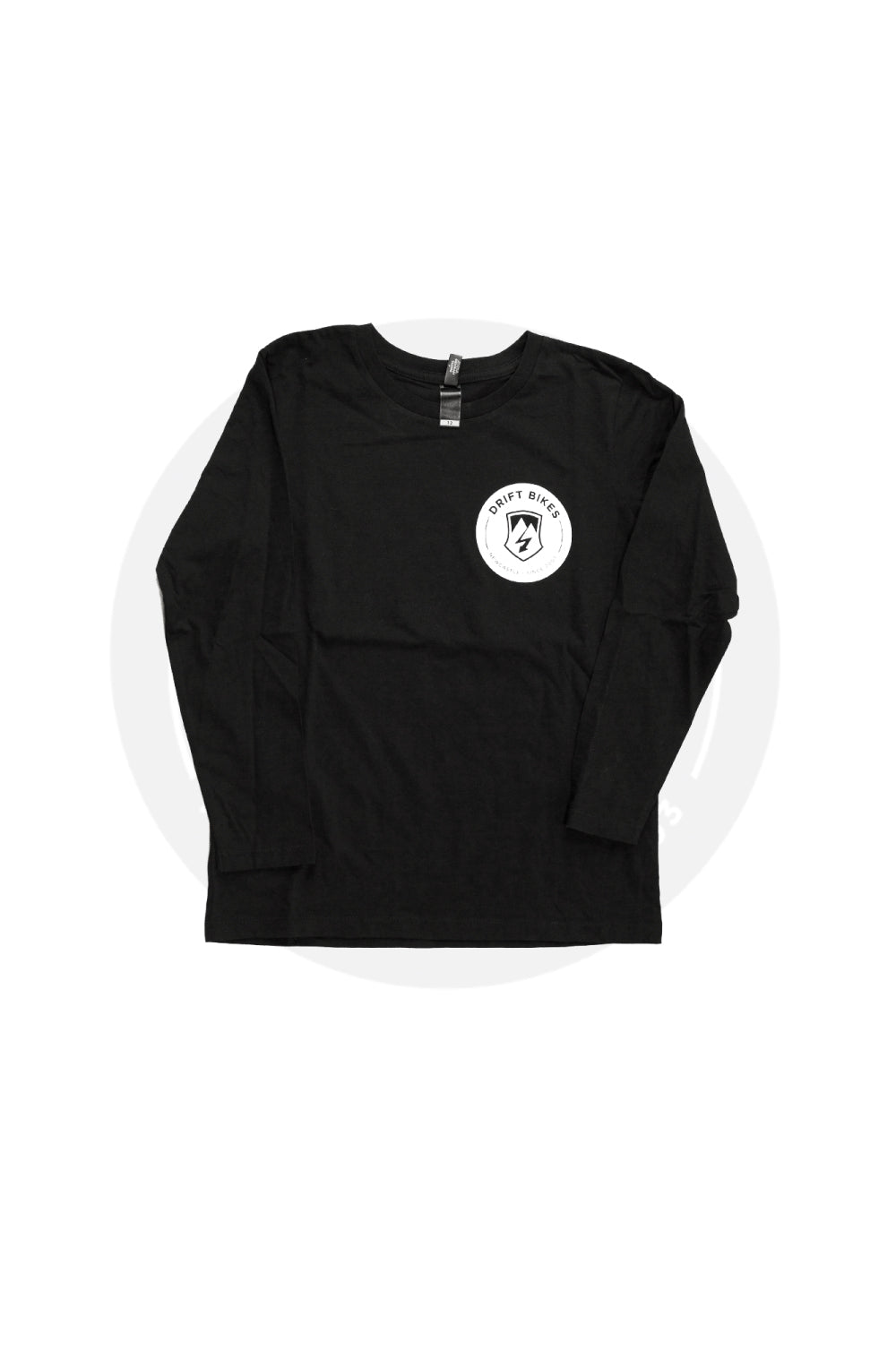 DRIFT FULL CIRCLE SHIRT LONG SLEEVE BLACK