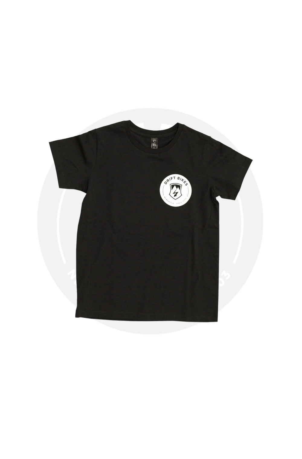 Drift Bikes Full Circle T-shirt Black