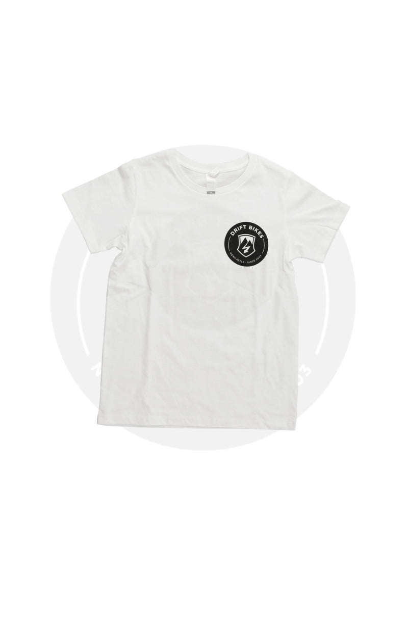 DRIFT FULL CIRCLE SHIRT SHORT SLEEVE WHITE