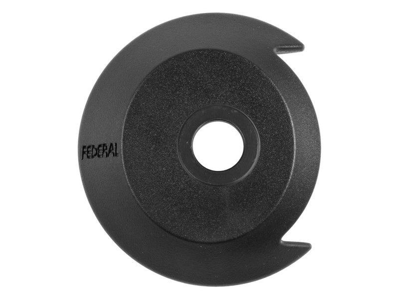 Federal Drive Side Plastic Hubguard With Universal Washer / Black