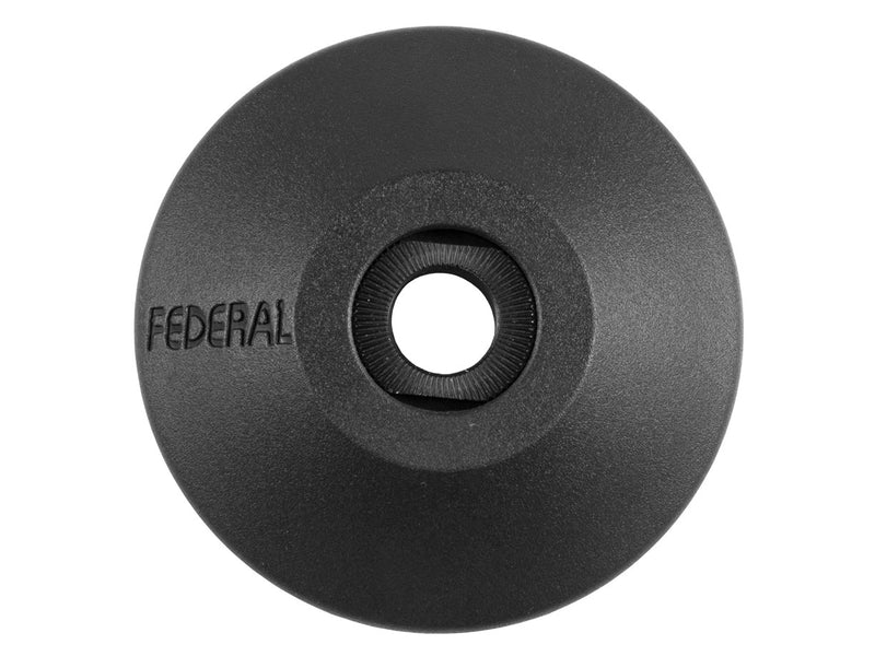 Federal Non Drive Side Plastic Hubguard w/ Freecoaster Cone Nut / Black