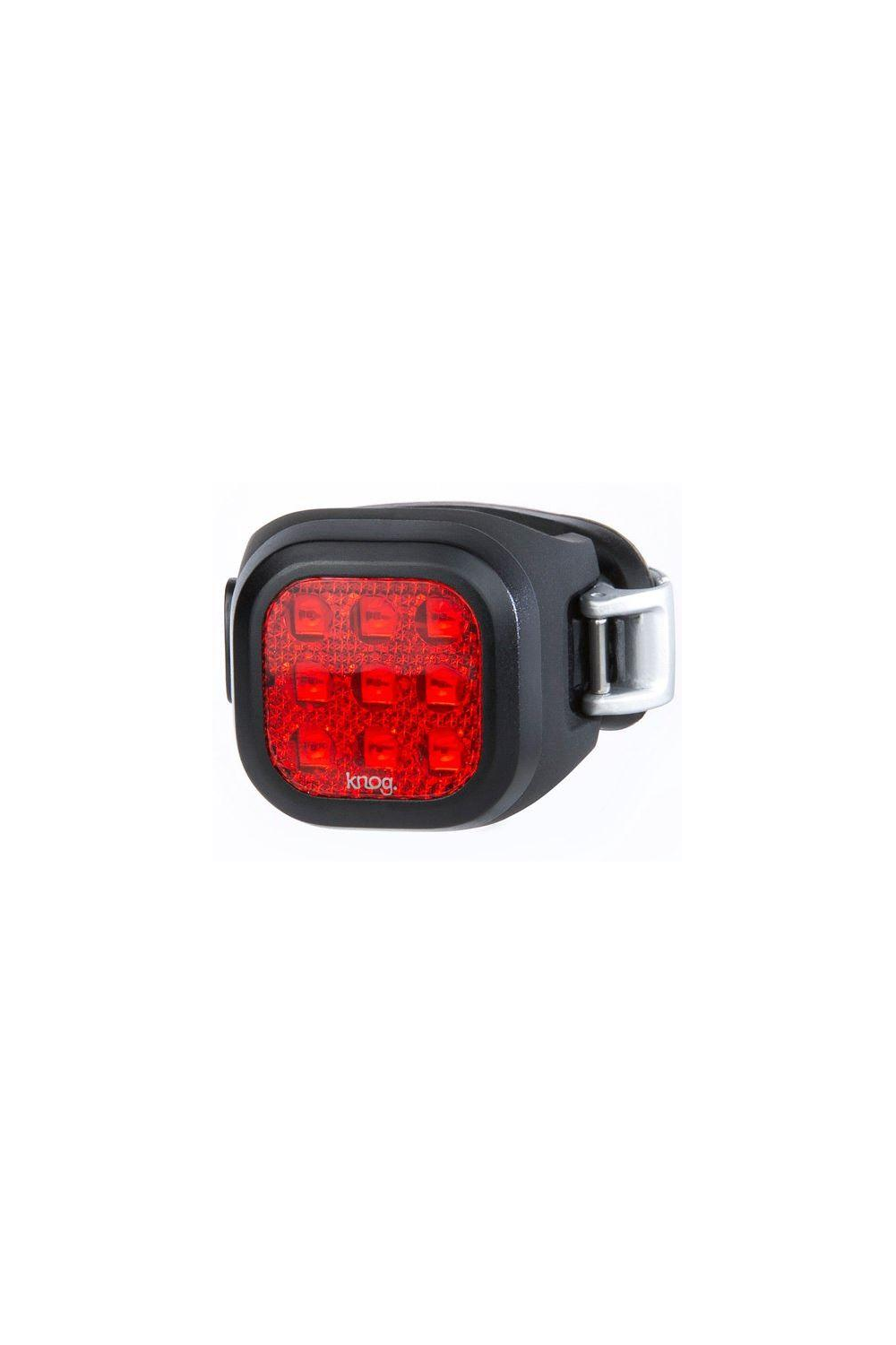 LIGHT KNOG BLINDER MINI, NINER, BLACK, REAR