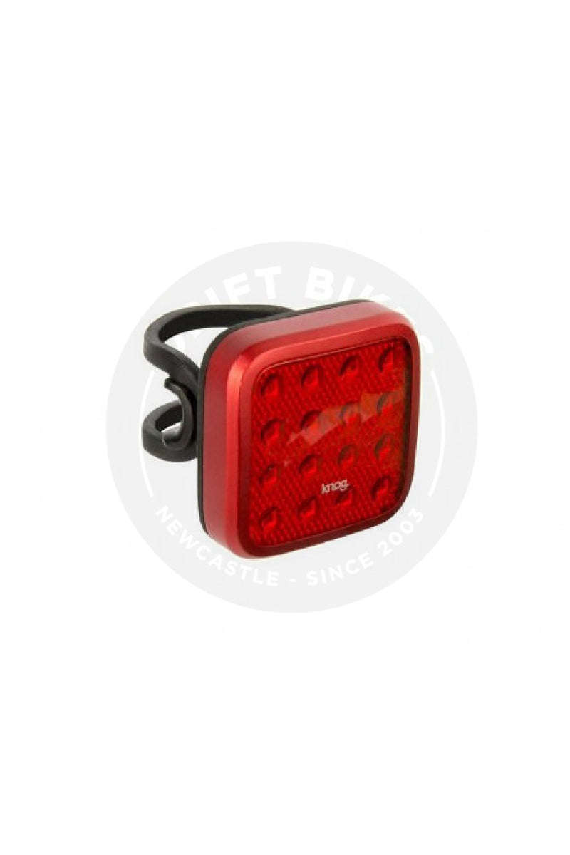 Light Knog Blinder Mob Kid Grid Red Rear