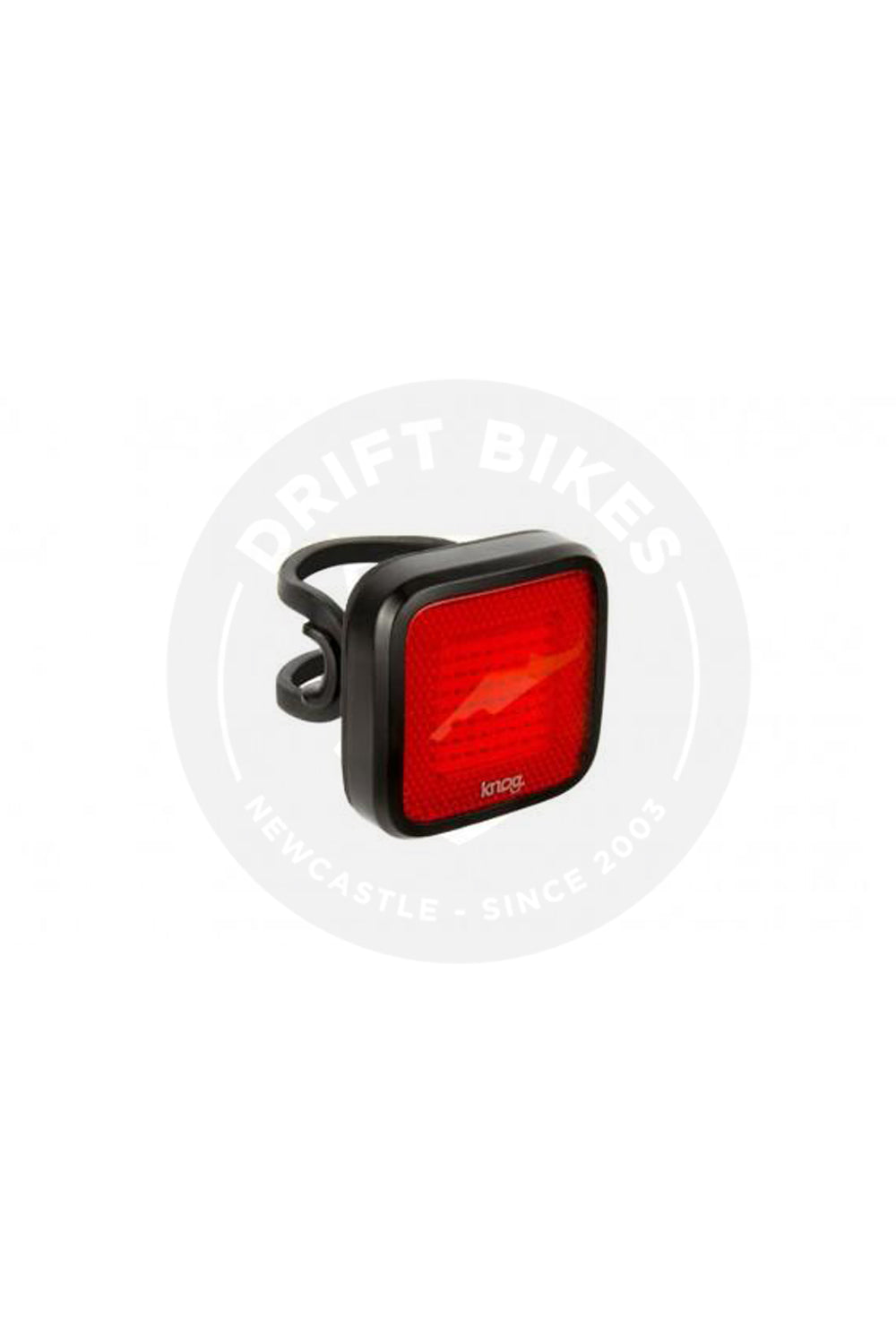 Light Knog Blinder Mob Mr Chips Black Rear