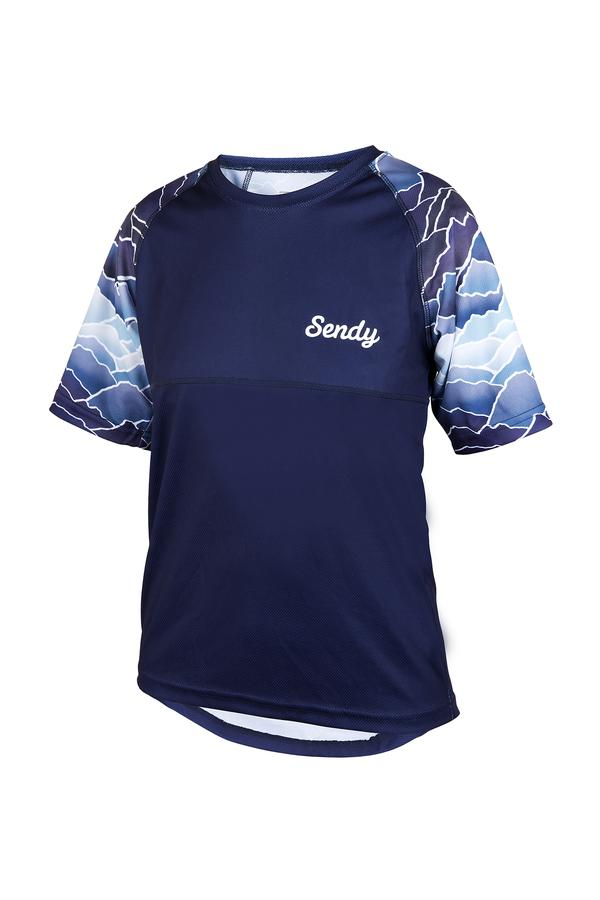 SENDY Youth Sent It Short Sleeve MTB Jersey
