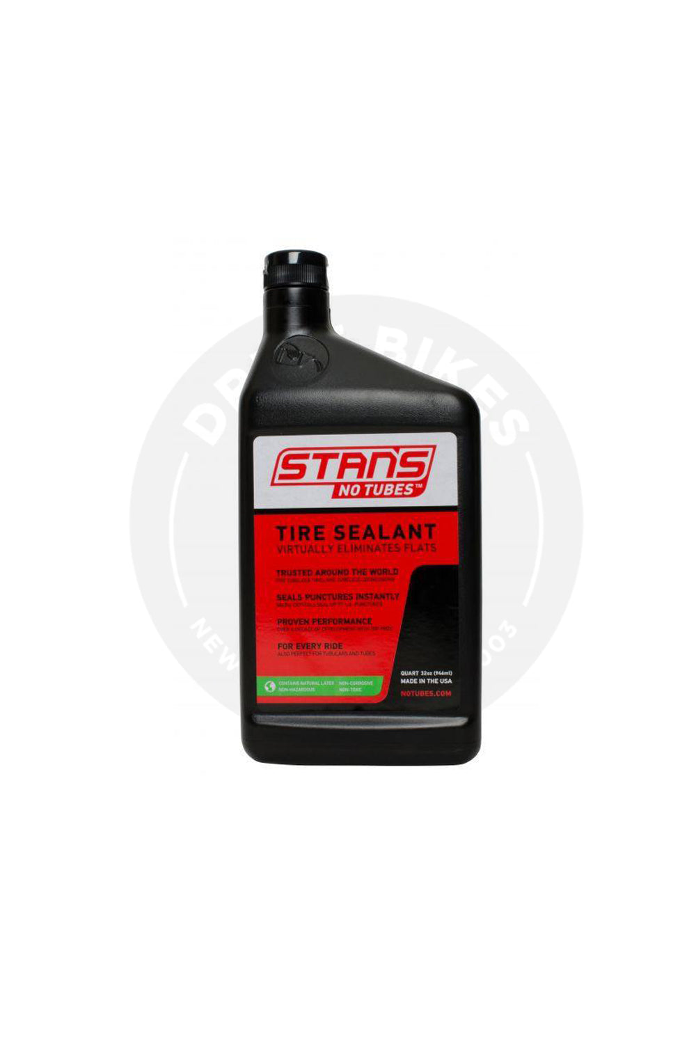 Stans No Tubes Bike Tire Sealant Quart 32OZ (946ml)