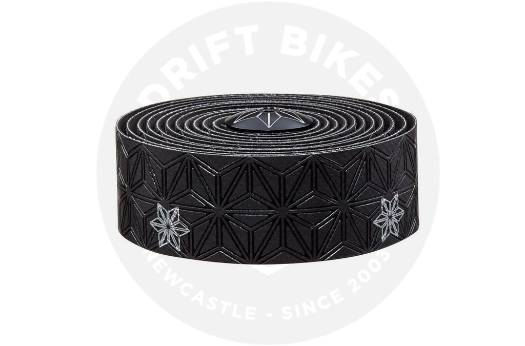 Supacaz Handlebar Bike Tape Super Sticky Kush Black/Silver Print