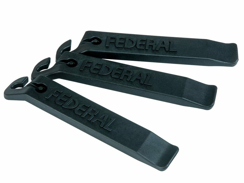 Federal Nylon Tyre Levers / Black / 3 Pack