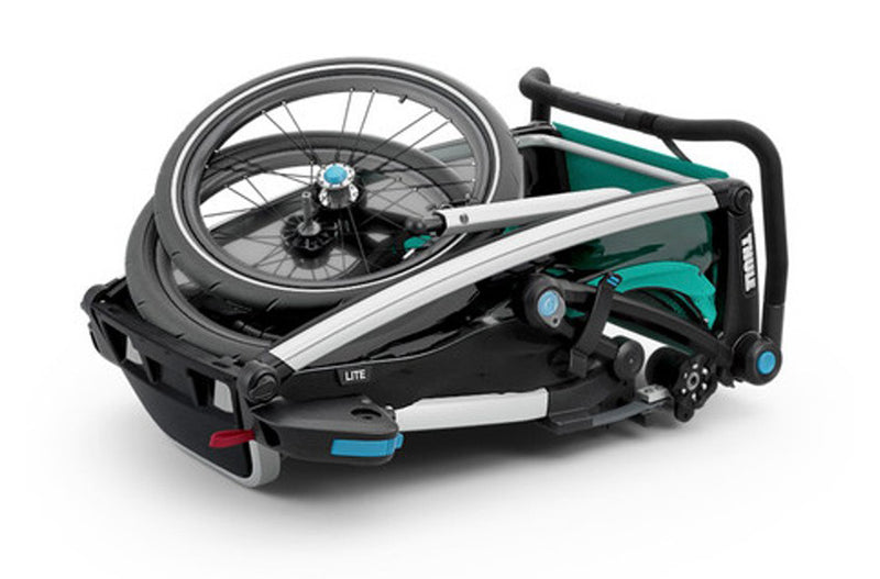 THULE CHARIOT LITE 2 CHILD BLUEGRASS