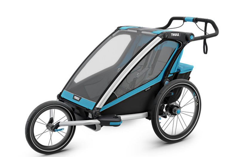 THULE CHARIOT SPORT 2 CHILD BLUE