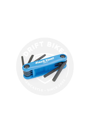 PARK TOOL 4MM, 5MM, 6MM, STD, PHIL WRENCH SET AWS-9.2