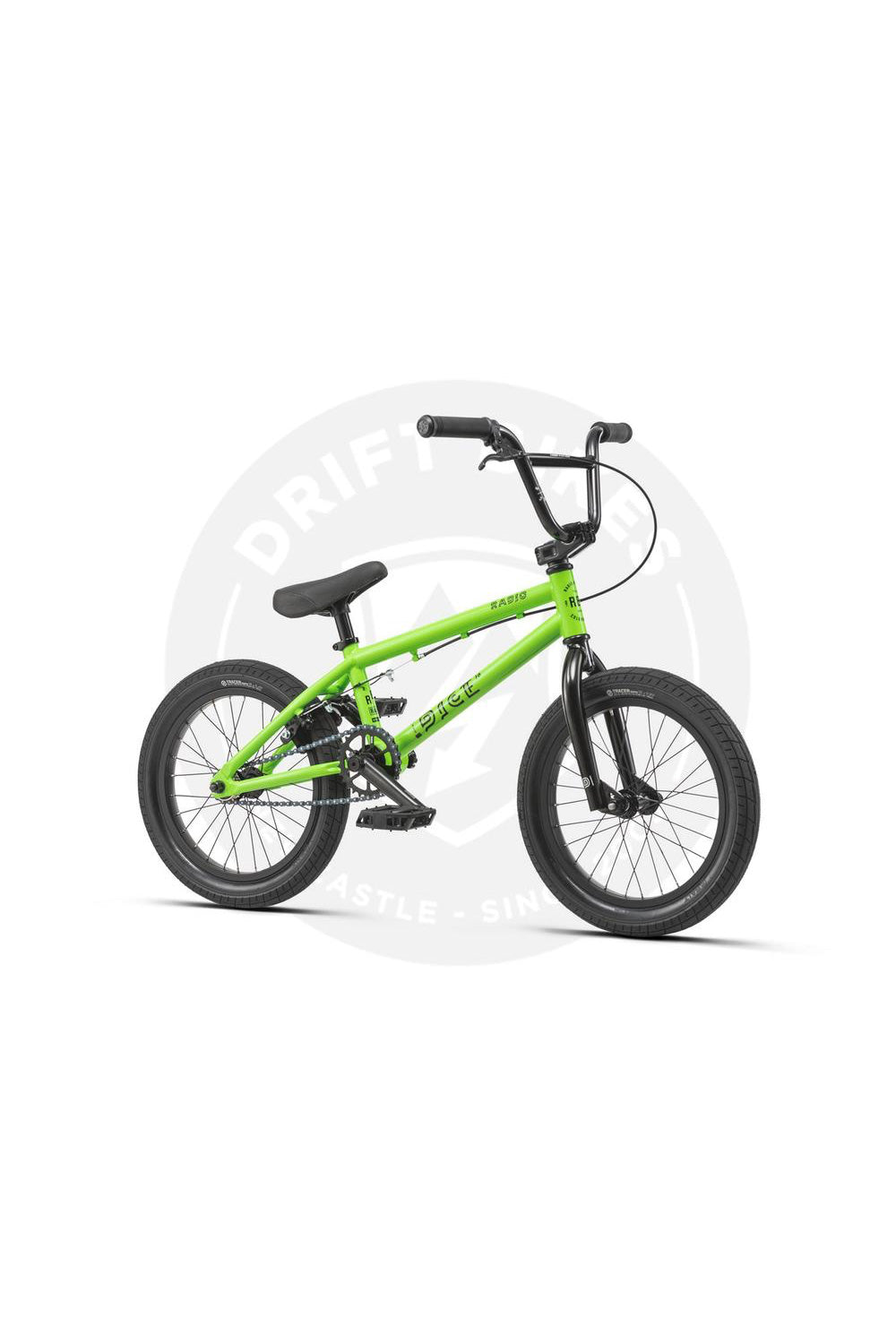 "RADIO 2019 DICE 16"" BMX, 15.75"" TT  GREEN"