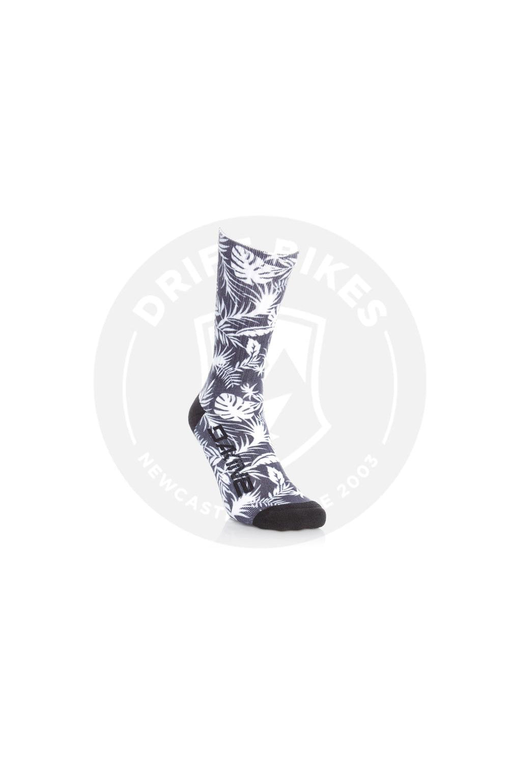 Dakine Booker Sock Black / White Palm