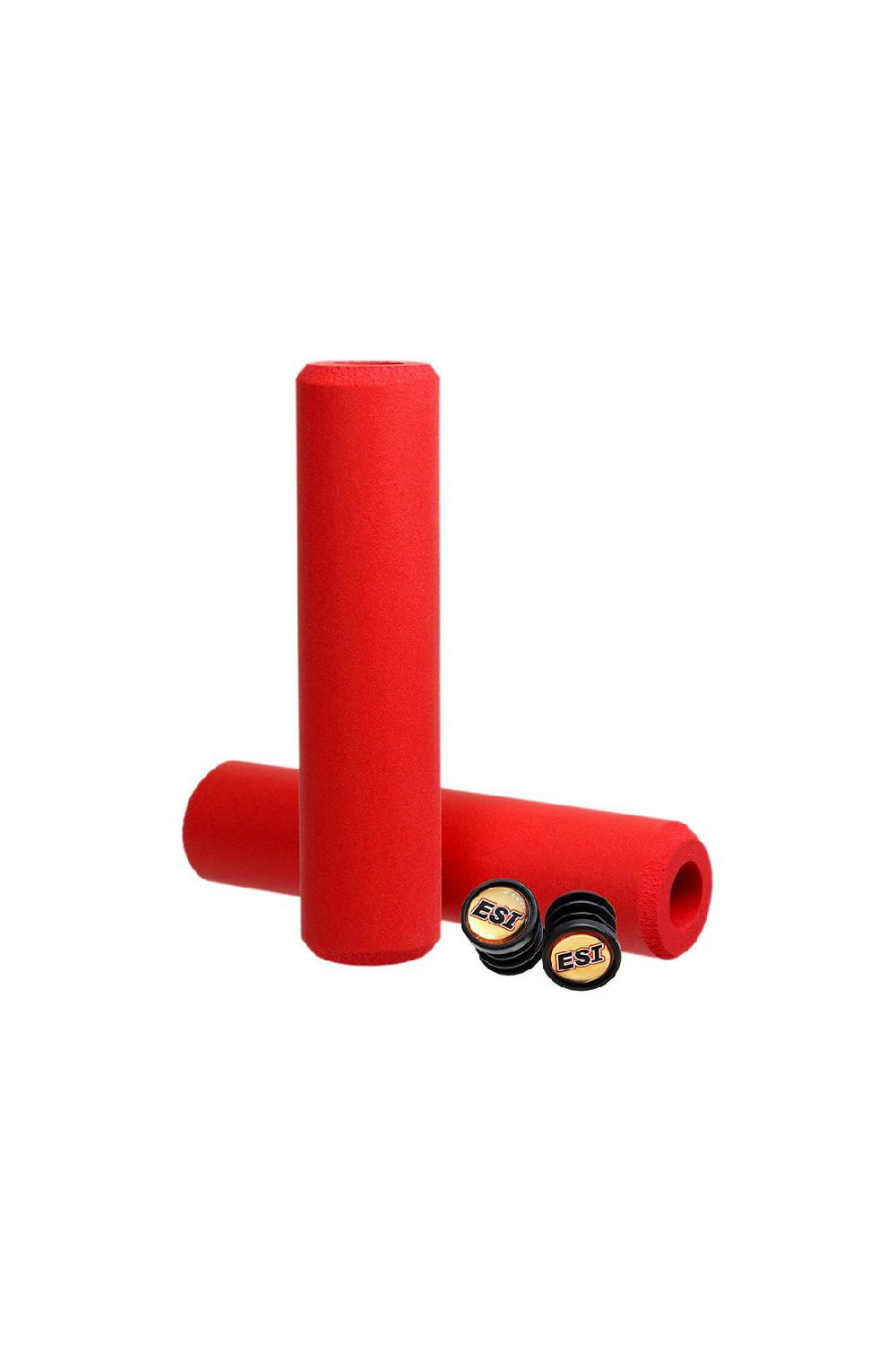 ESI Bike Grips Chunky Red