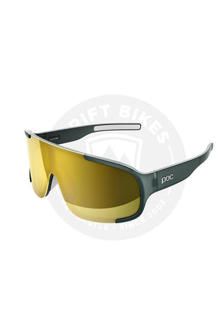 100% SPEEDCRAFT PERFORMANCE SUNGLASSES - LONG LENS - GAMMA RAY, SMOKE LENS