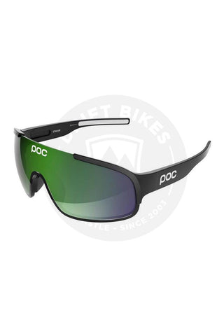100% SPEEDCRAFT PERFORMANCE SUNGLASSES - LONG LENS - FIRE RED, SMOKE LENS