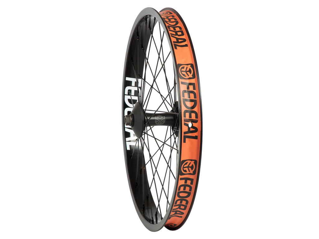 Federal Stance Front Wheel With Guards And Butted Spokes / Black