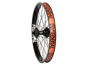 Federal Female Stance Cassette Rear Wheel With Guards And Butted Spokes / Black / 9T RHD