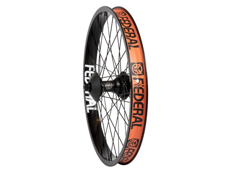 Federal Female Stance Cassette Rear Wheel With Guards And Butted Spokes / Black / 9T LHD