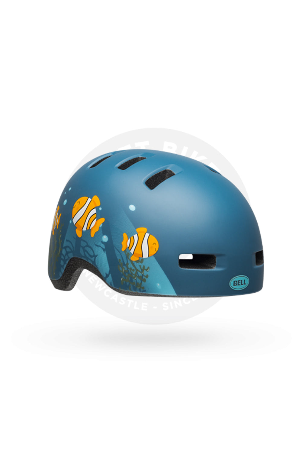 CLOWN FISH MATTE GREY/BLUE
