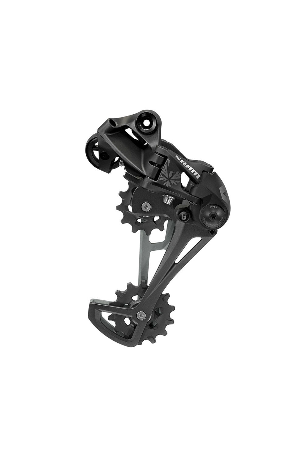 SRAM GX EAGLE TYPE 3 REAR DERAILLEUR, 12 SPEED, BLACK