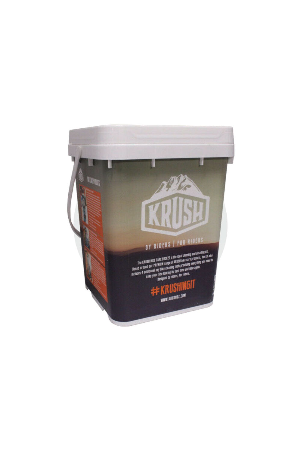 Krush Pro Bike Care Detailing Mountain Bike Bucket