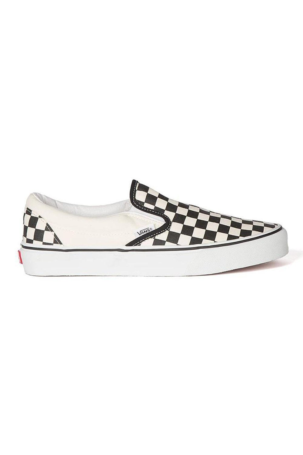 Vans Slip On Pro Shoe Checker Black/White