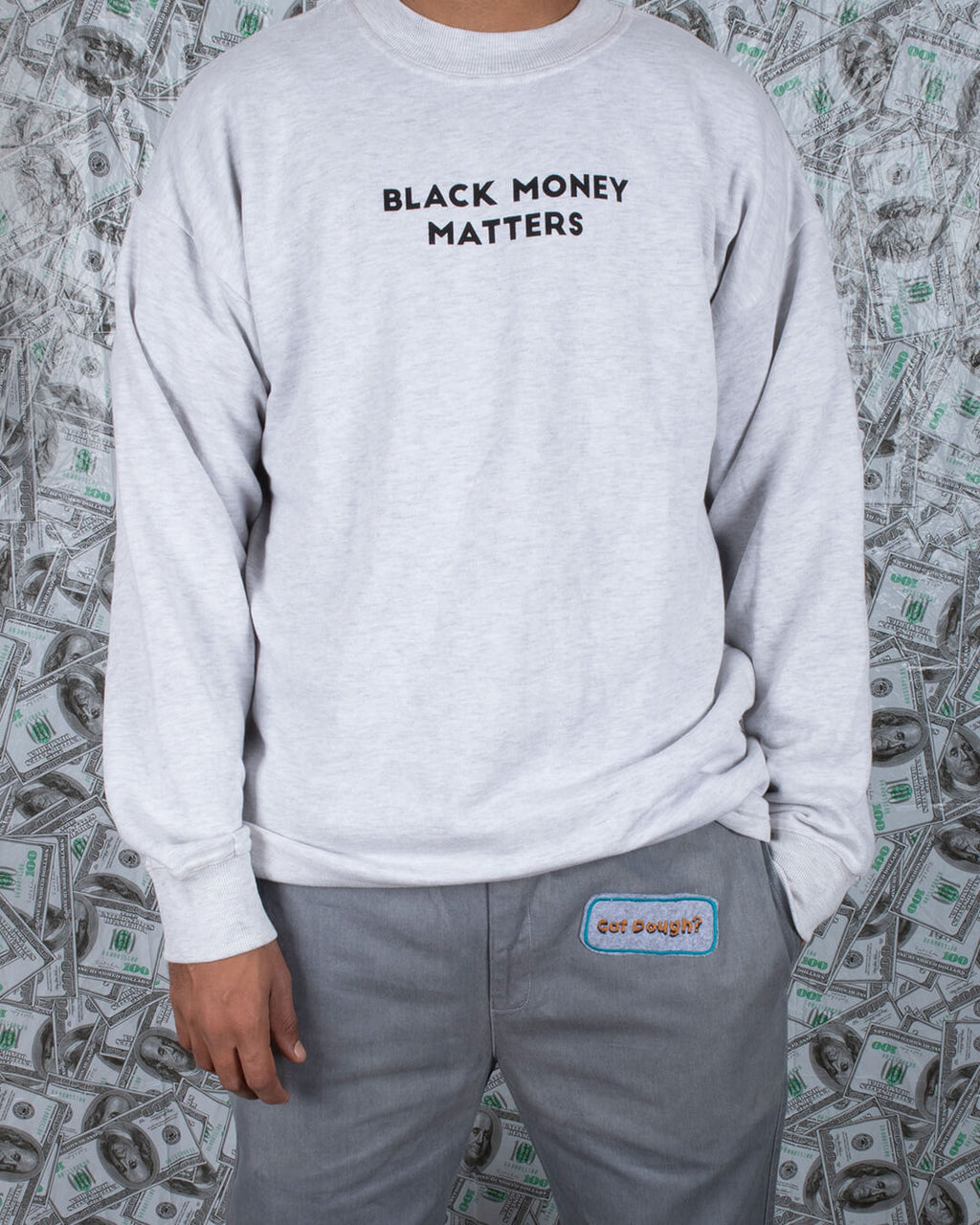 BLACK MONEY MATTERS SWEATSHIRT
