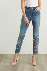 Joseph Ribkoff Cut-out Jeans Style 212930