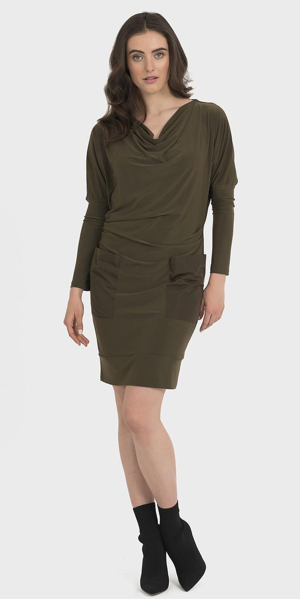Joseph Ribkoff Avocado Dress