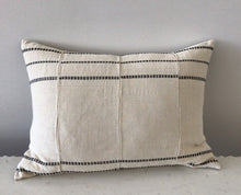 Load image into Gallery viewer, Pillow, Cream African Mud Cloth