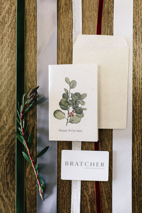 Bratcher Home, Gift Card