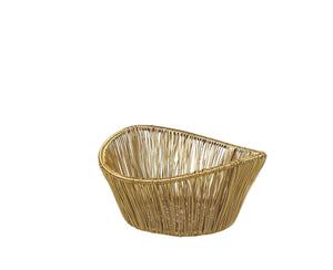 Baskets, Gold Rhythm Wire